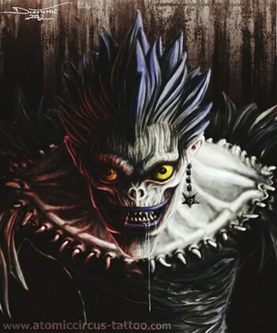 Death Note Ryuk Death Angel Animelover MyFavorite  Anime :3 ^.^'