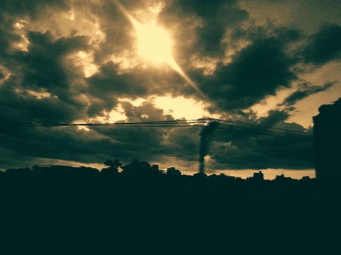 Sunset. :) First Eyeem Photo