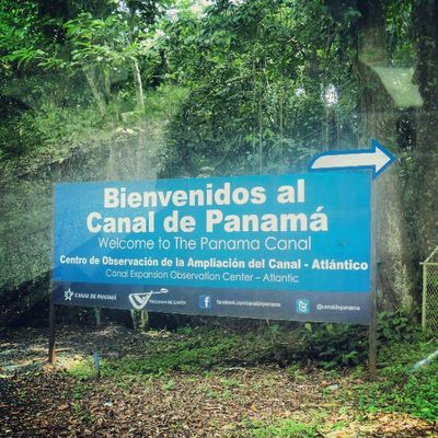 GiraAcademica Colon C3 PanamaCanal Gatu CentroDeObservacionesDeLaAmpliacion LaMaravillaEresTu Ampliacion TercerJuegoDeEsclusas Atlantico Panama Construccion Crecimiento Desarrollo VivaPanama