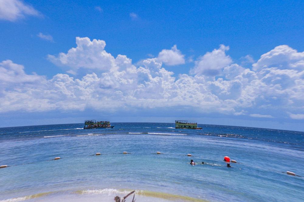 Beach Photography Island Life ✌ Pigeon Point Beach Tobago Go Pro Hero GoproSea And Sky Boats⛵️