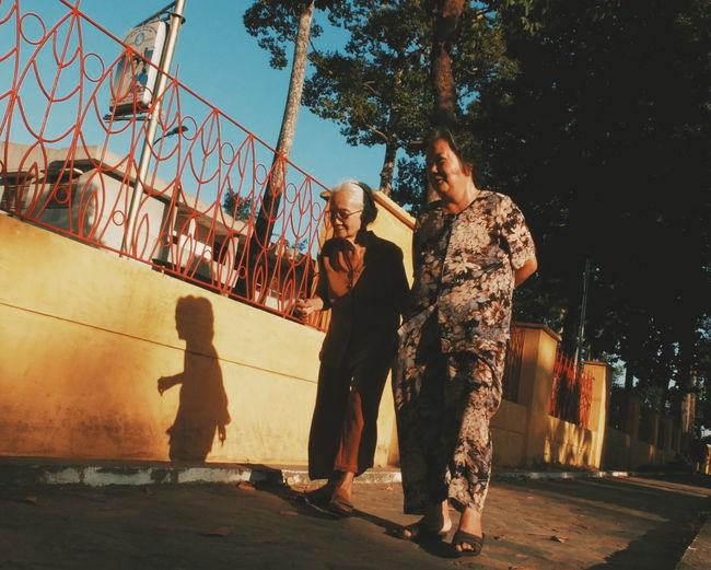 street life Ho Chi minh city, Viet Nam Oldwoman Twopeople Two Streetphotography Streetlife Saigon, Vietnam Hochiminhcity Ligjt And Shadow Enjoying Life Light And Shadow Museum Of Modern Art Museum
