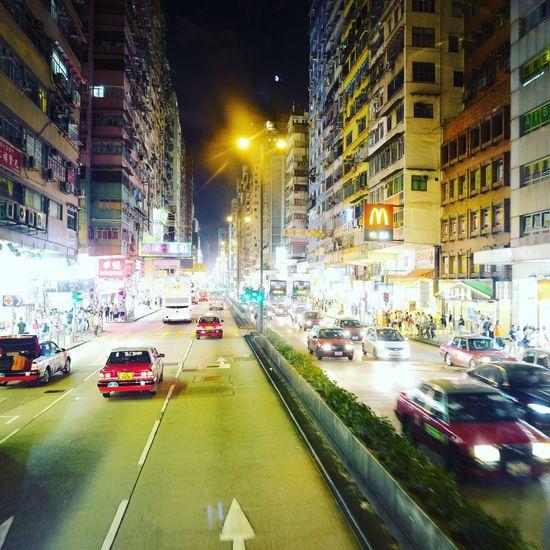 Leica Leicaq Summilux HongKong Landscape Night Nightphotography CityTour Bigbus Bigbustour
