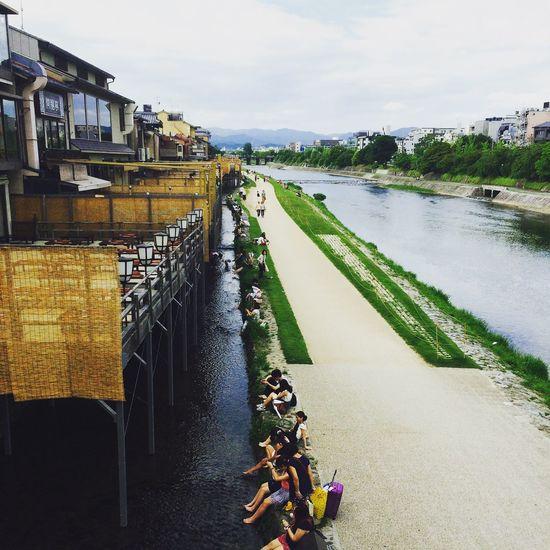 Holiday POV 河原町 京都 夏 日曜日 Kyoto,japan Sunday