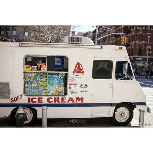 Newyork New York NYC NYC Photography Ice Cream Ice Cream Truck Classic Nyc I Scream For Ice Cream  Soho Truck