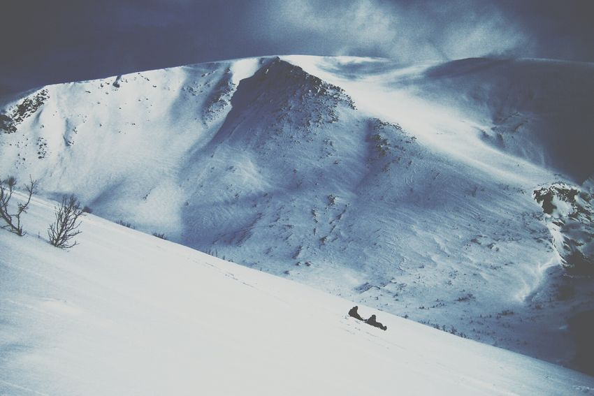 Two lil dots at the bottom - I & dad. Family Mountains Mountain View Throwback Capturing Freedom Call Of The Wild Winter Snow Russia, Hibiny EyeEmRussianTeam