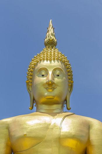 Wat muang ang thong thailand's largest buddha thailand discovery