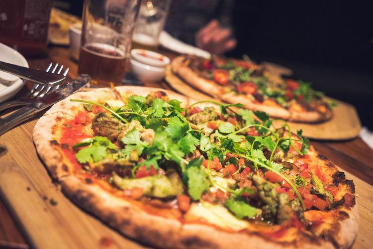 Corriander Leaf Corriandar Lover Pizza Time Dinner Time Australia Adelaide, South Australia Pizza Pepperoni Pepperoni Pizza Tomato Sauce Savory Food Flatbread  Salami Italian Food