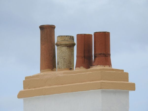 Chimney Pots No People Outdoors Close-up Built Structure Architecture