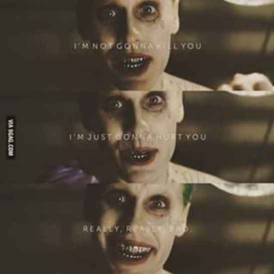 Leto will Nail it SuicideSquad 9gag