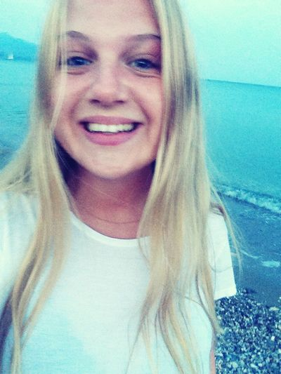Summer Happy Girl Greece Sun Hair Blonde Life Vacation Beach