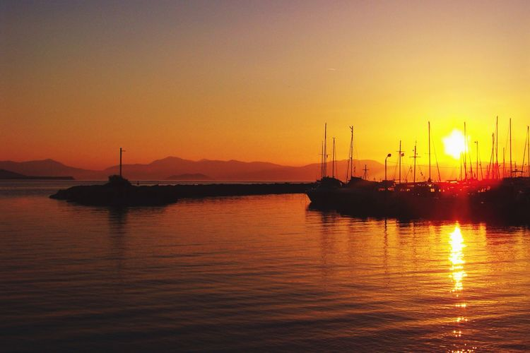 Grèce, Greece, Aegina Sunset Sunset_collection