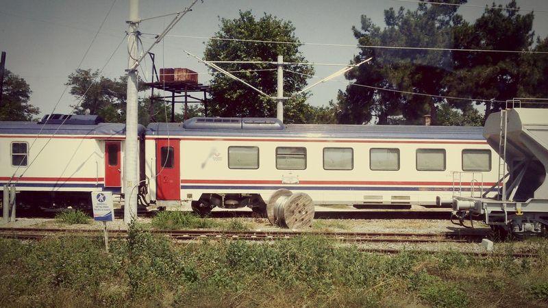 First Eyeem Photo Train Vintagefilter Turkey