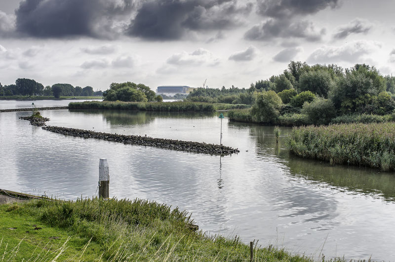 Beauty In Nature Clouds Clouds And Water Landscape Landscape_Collection Landscape_photography Nature Netherlands Outdoors Puttershoek Reflection River Riverside Riversite View Water