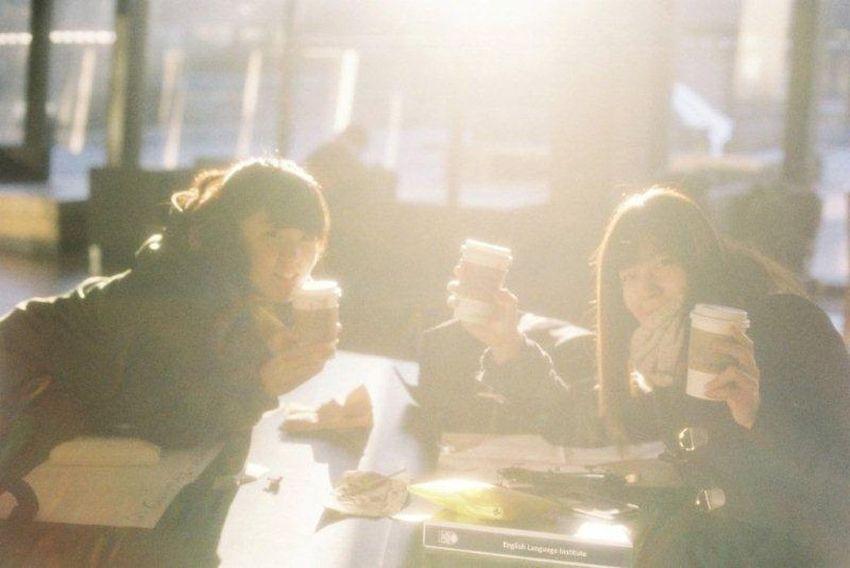 35mm Film Film EyeEm Best Shots Light Sunny Day Caffee Friends UBC Canada Studying