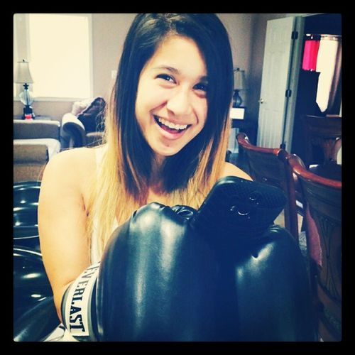 TextingWithBoxingGloves