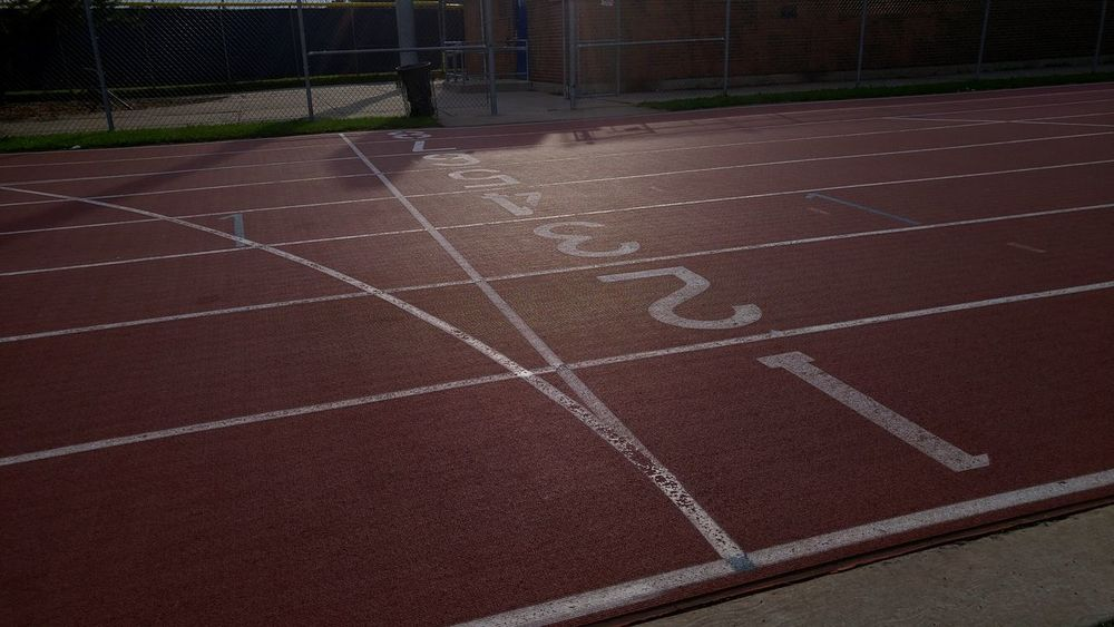 Run Running Athletism Athletic Sprint Sprinting Numbers Sprint Ring