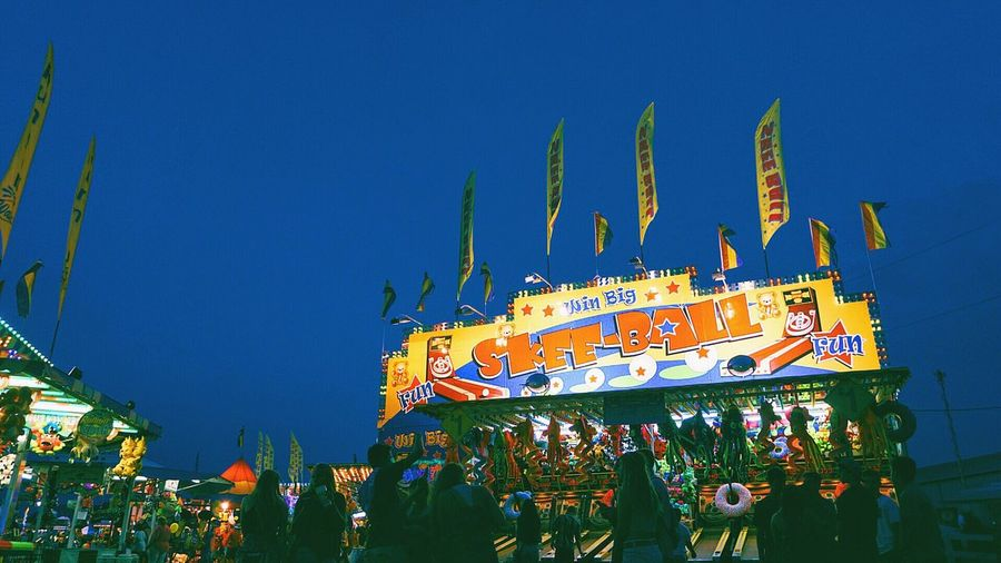 County Fair Colors Colorful Sony A6000 Chicago Night Lights 2016 Travels