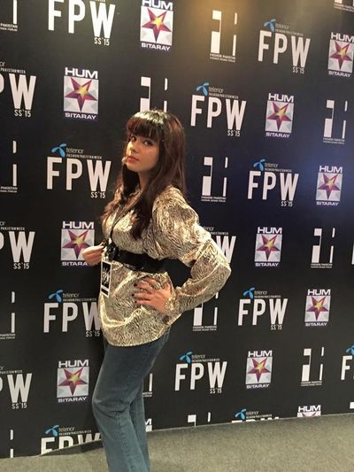 At Redcarpet of TFPW 15 Day3
