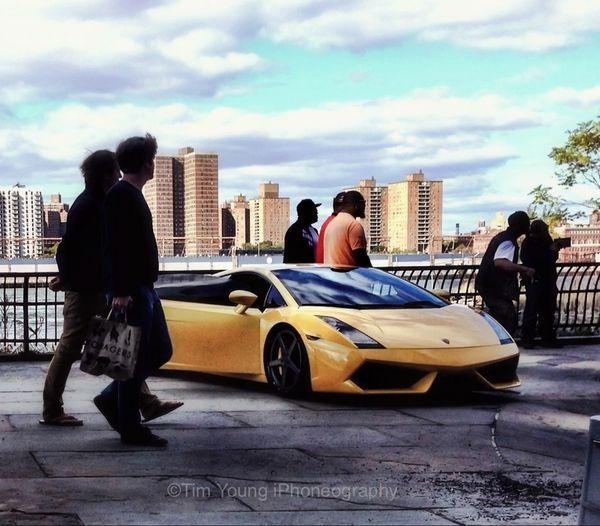 Lamborghini Rappers Video NYC