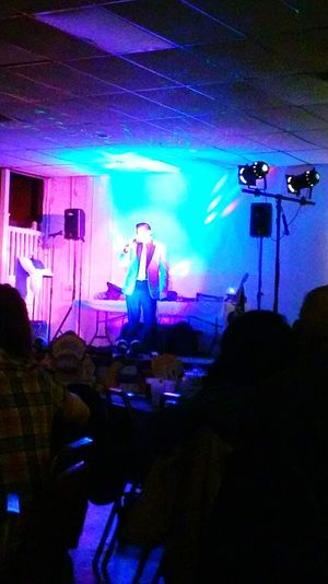 Blue Wave Singing Impersonator Impersonation Blue Lights  Blue Jacket Elvis Presley Elvis Impersonation Great Time  Reading Pa Riverside Banquet Hall Photos By Jeanette Showcase April Lights And Reflections
