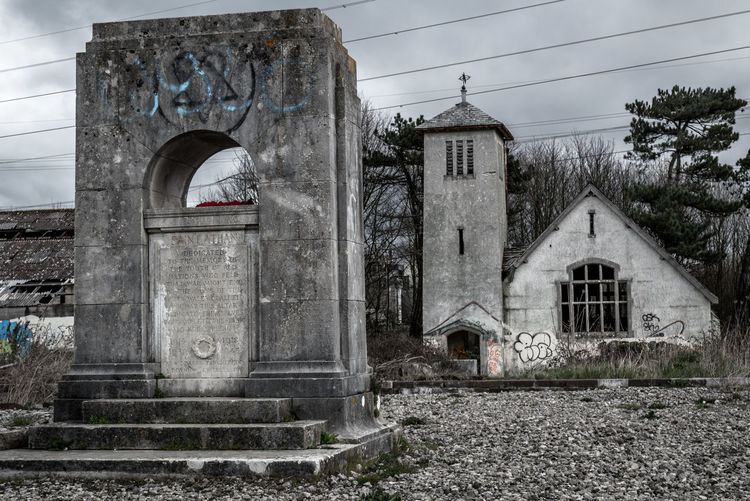 Arch Architecture Built Structure Church Decay Deterioration Exterior Forgotten Historic No People Old Sky The Past Urbex