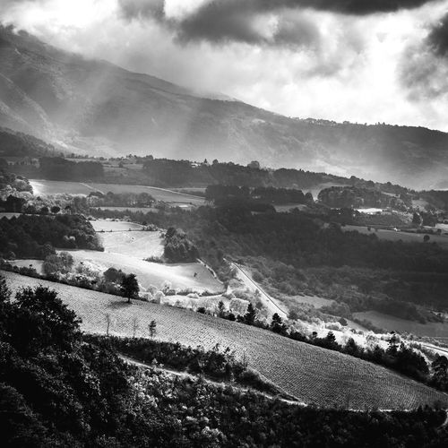 B&W Cloud - Sky Sky Nature Outdoors Beauty In Nature Nature Morning LightTravel Sunlight Day Roadtrip Mexico Mountain Beauty In Nature Mountain Range Tranquility Hike Looking Through Window Landscape_photography Morning Light Remote Mountains Landscape Monochrome
