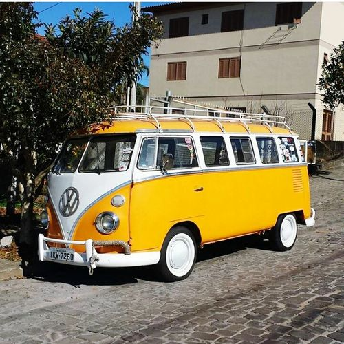 Yellow Collector's Car History Car Serragaucha MyWorld ♡