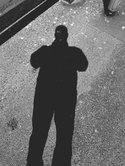 Shadow Photography Self Portrait