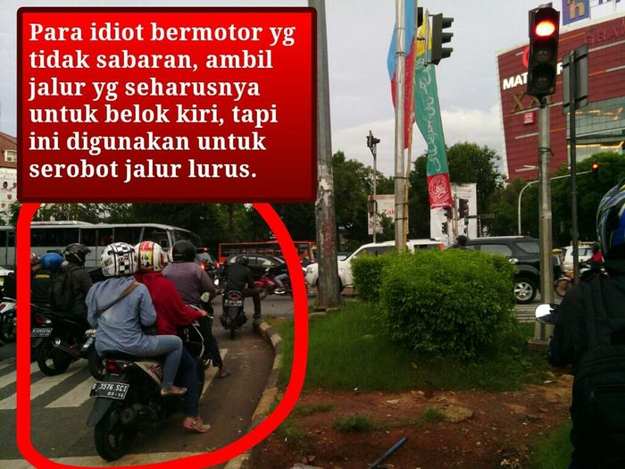 Idiot Bermotor