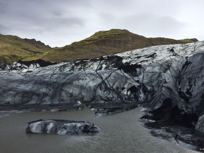 Solheimajokull glacier - iceland