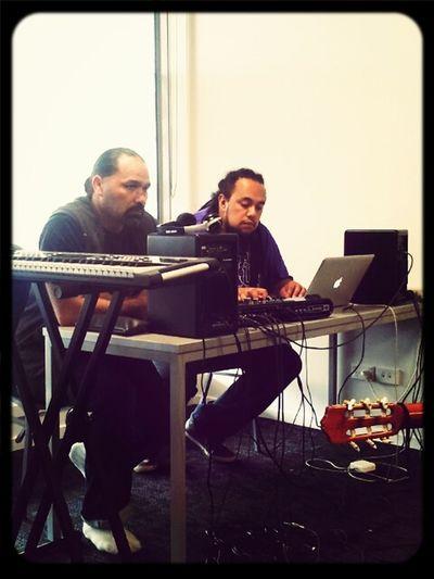 Matua Ropata & Te Omeka Perkins ..create and release Tornmusic