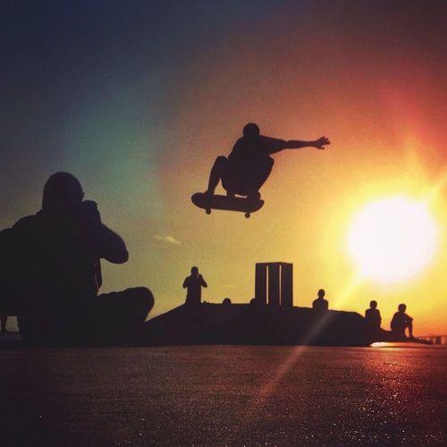 Skate & Sunset.