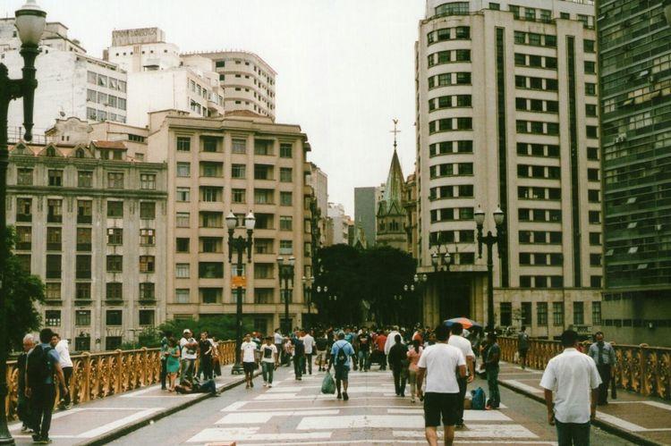 Sao Paulo - Brazil Saopaulo Brasil Streetphotography Street Rua Pentax K1000 Analogcamera Looking Into The Future Open Edit