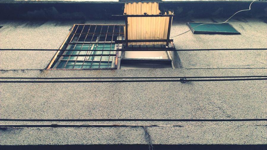 Urbex Window Taking Photos Street Photography
