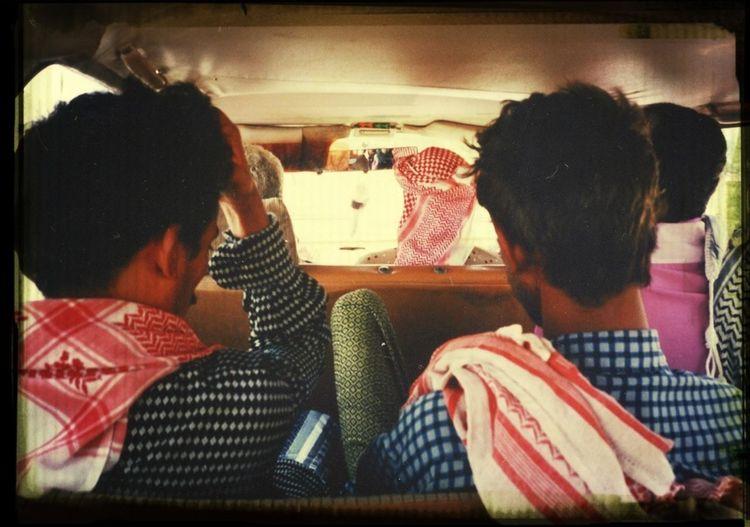 Yemen style taxi Taxi Crowd Travel Photography Backward Portrait