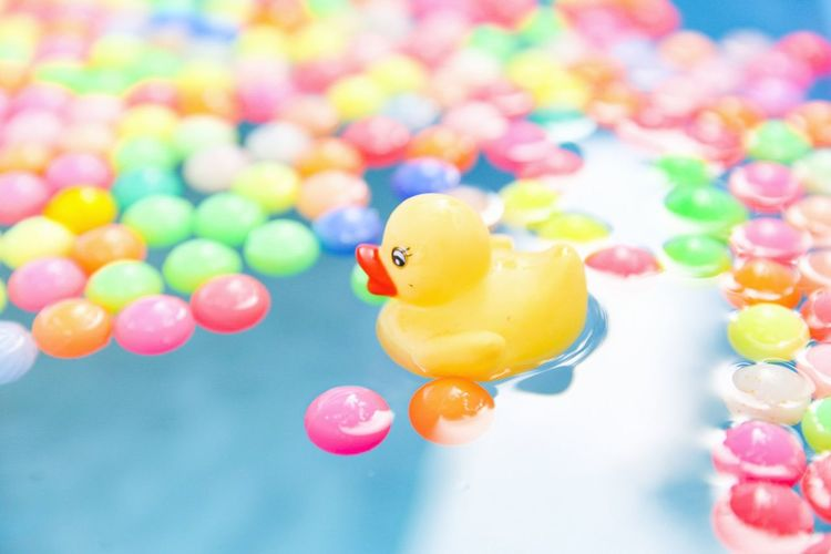 EyeEm Selects Toy Multi Colored Water Bird Canon6d Duck Pool Ball No People