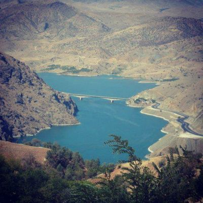 Kömürhan Köprüsü Harput' a bakar.. Elaz ığ Elaziz K ömürhan Harput gakgo azizşehir fırat 23 city turkey türkiye manzara picture gakgoş