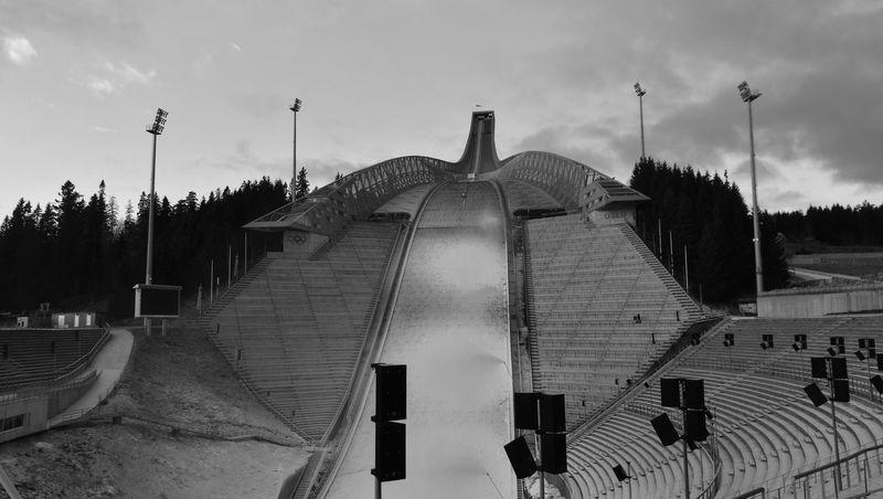 The magic of Holmenkollen Holmenkollen Oslo Norway Skijump Skiing Winter Snowproduction EyeEm My Year My View Dual Lens Welcomeweekly Nofilter Huawei P9 Leica EyeEm Best Shots EyeEm Gallery Blackandwhite Photography