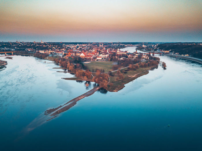 Kaunas old town panorama DJI X Eyeem Drone  Aerial Aerial View Architecture Beauty In Nature Building Building Exterior Built Structure City Cityscape Day Drone Photography Mavic Mavic Pro Nature No People Outdoors River Scenics - Nature Sky Tranquil Scene Tranquility Water Winter