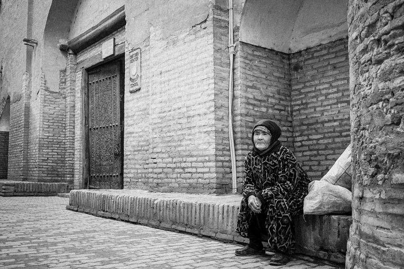 Old Uzbek Woman