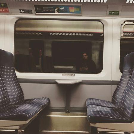 Reflection Travel Travelling Train Self Portrait Selfie ✌