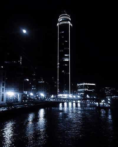 Outdoors Night Illuminated Tall - High Architecture Building Exterior Built Structure Water Waterfront Travel Destinations No People City Skyscraper Cityscape Sky