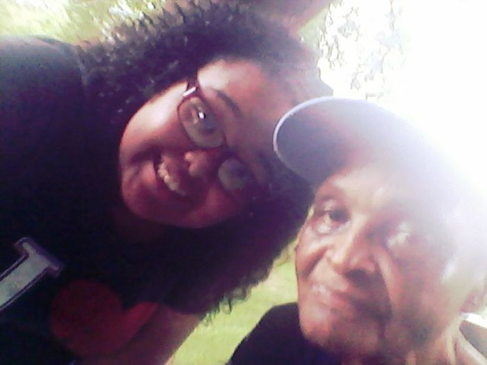 Me & My Great-GrandMother. Love Ya
