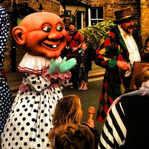 And the town was filled with the most beautiful people. Punch Picoftheday IPhoneography Random abstract skipton photooftheday iphoneography photooftheday punch&judy
