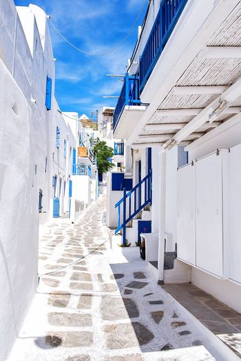 Hello World Enjoying Life Colorful White And Blue White Album Travel Photography Walking Architectural Detail EyeEmBestPics EyeEm Best Shots EyeEm Gallery Walking Around Mykonos,Greece Mykonos Greece Eyeemphotography Architecturelovers Typical Discovery Architecture_collection Architecture Sunny Day Streetphotography Street Photography Street