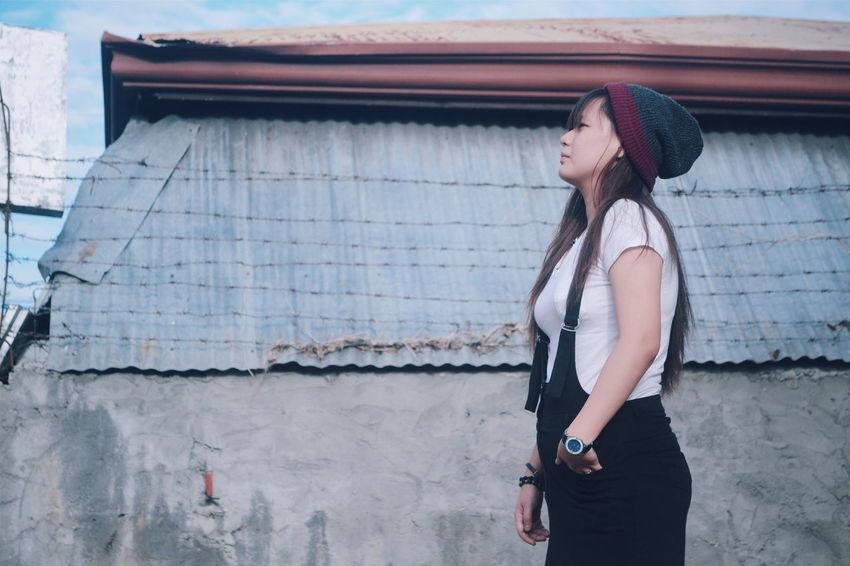 Dream High. VSCO NikonD3100 Asiangirl Portraiture Women Of EyeEm Woman Cinematography Philippines