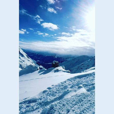 Snow Skiing Winter Montains    Cold Beautiful Cool