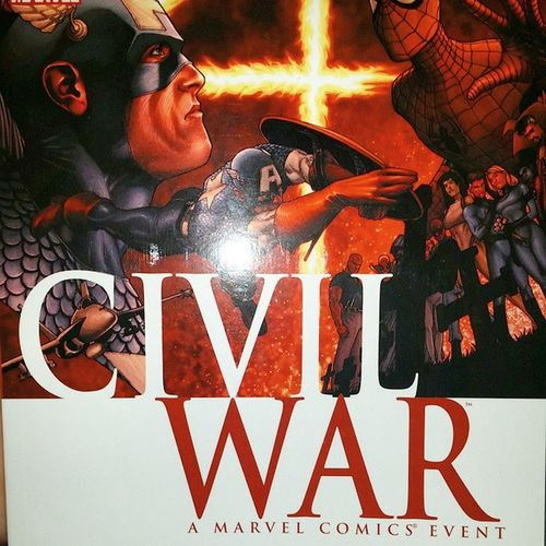 @emanul83 look what I got my nephew! Don't be jealous! ? Marvel Marvelcomics Civilwar Comics