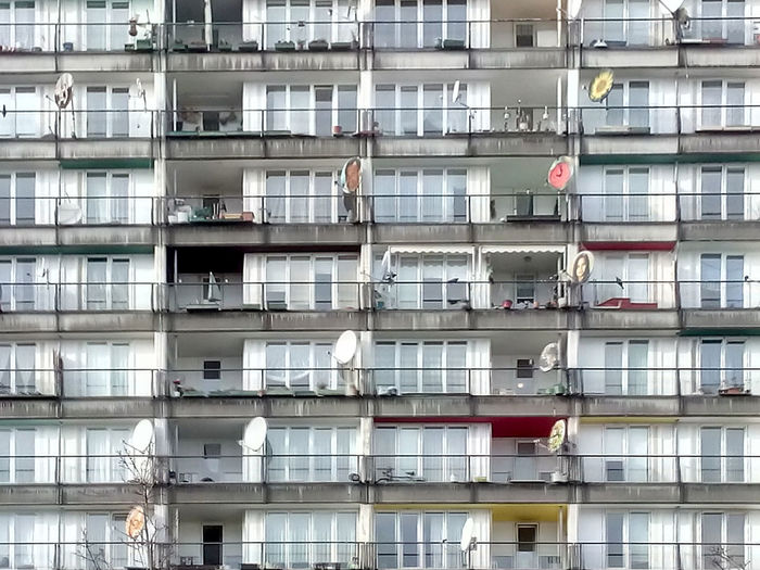 Apartment Architecture Balcony Berlin Building Building Exterior Bun Geometry Hochhäuser Outdoors Pallasstrasse Repetition Residential Structure Symmetry