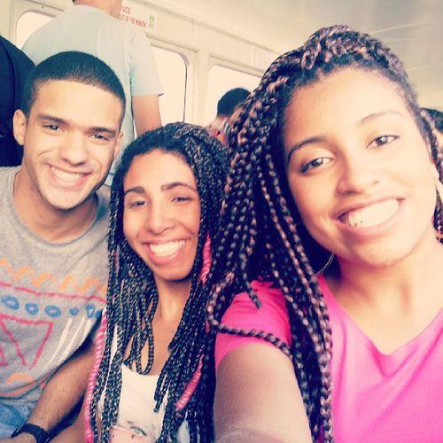 Friends Corcovado RJ Paulistas beauty smile happy